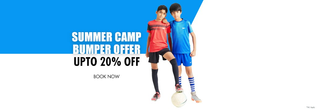 SUMMER CAMP BUMPER OFFER